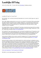 Landelijke EFT dag - Anne Gouweloos 2015