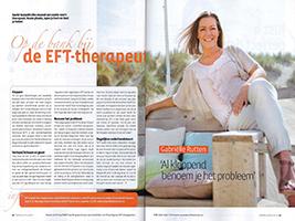 Santé op de bank bij de EFT-therapeut