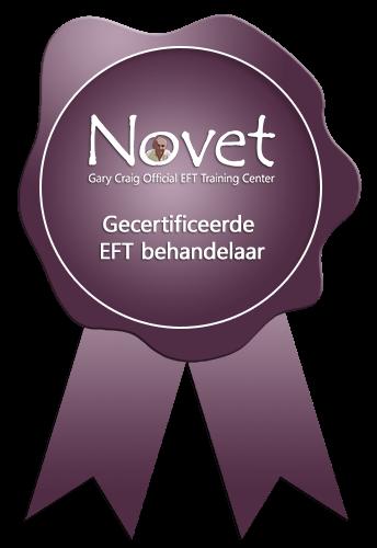 Novet zegel gecertificeerde EFT behandelaar