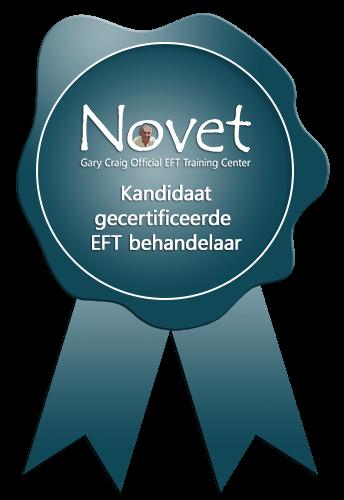 Novet zegel kandidaat gecertificeerde EFT behandelaar
